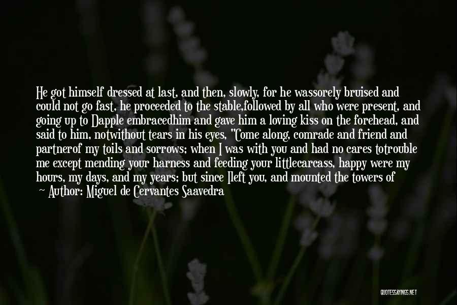Who Left Me Quotes By Miguel De Cervantes Saavedra
