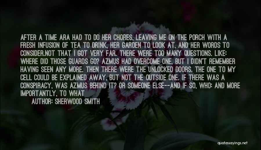 Who Left Me Quotes By Sherwood Smith