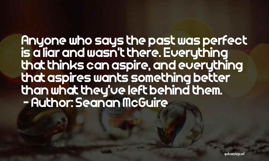 Who Says You Are Not Perfect Quotes By Seanan McGuire