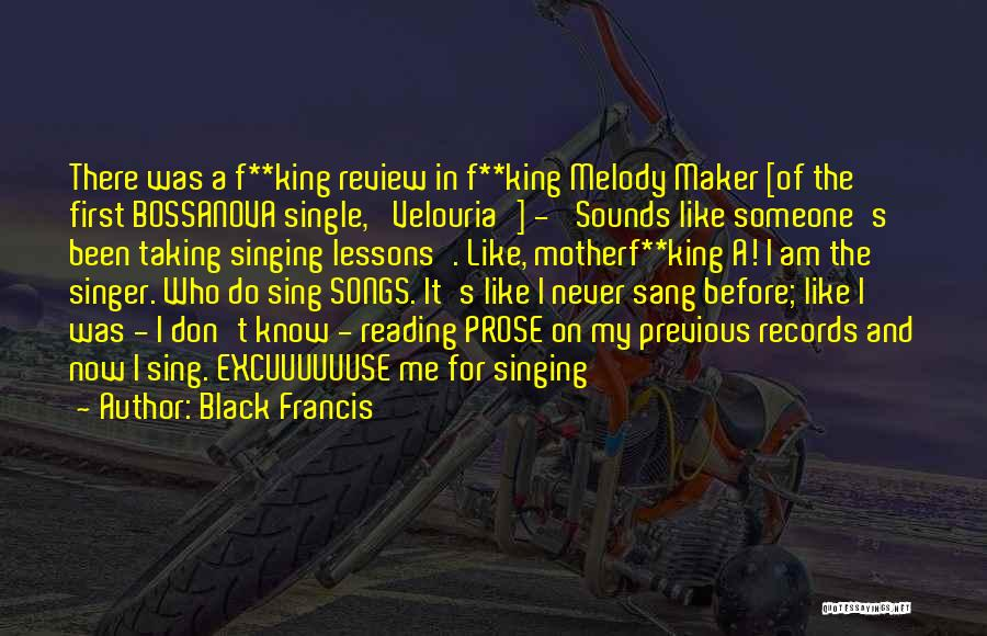 Who Song Quotes By Black Francis