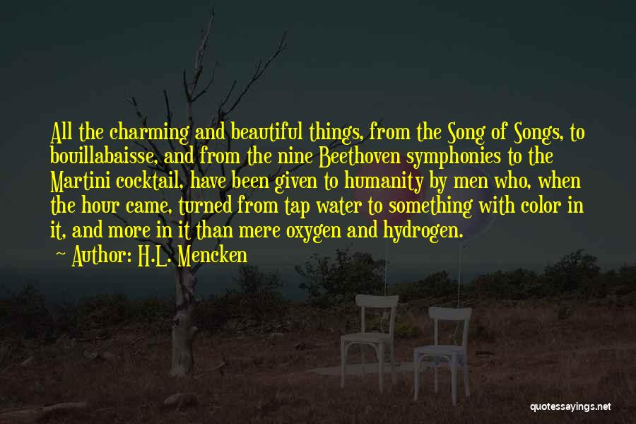 Who Song Quotes By H.L. Mencken