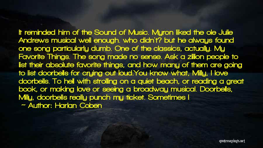 Who Song Quotes By Harlan Coben