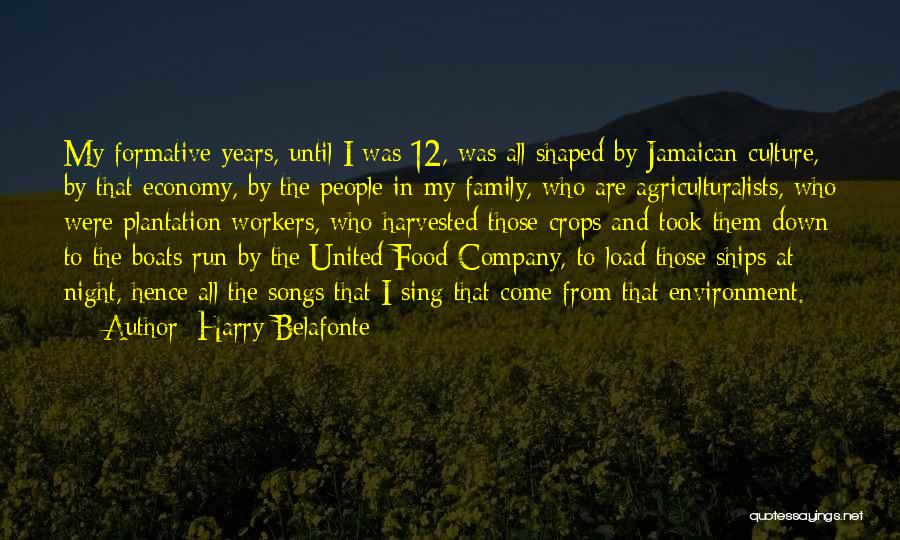 Who Song Quotes By Harry Belafonte