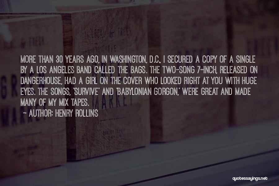 Who Song Quotes By Henry Rollins