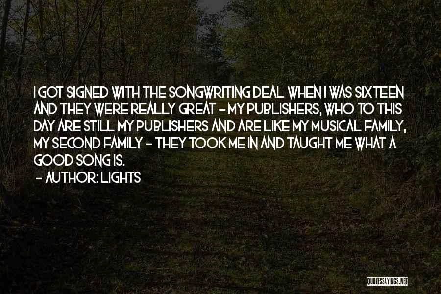Who Song Quotes By Lights
