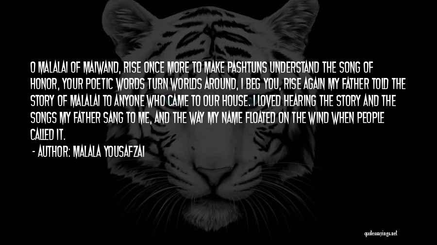 Who Song Quotes By Malala Yousafzai