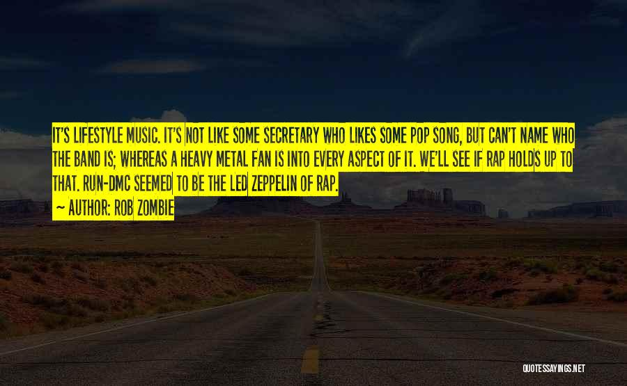 Who Song Quotes By Rob Zombie