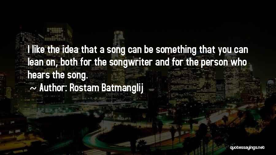 Who Song Quotes By Rostam Batmanglij