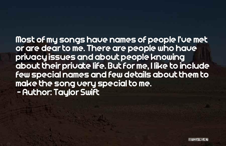 Who Song Quotes By Taylor Swift