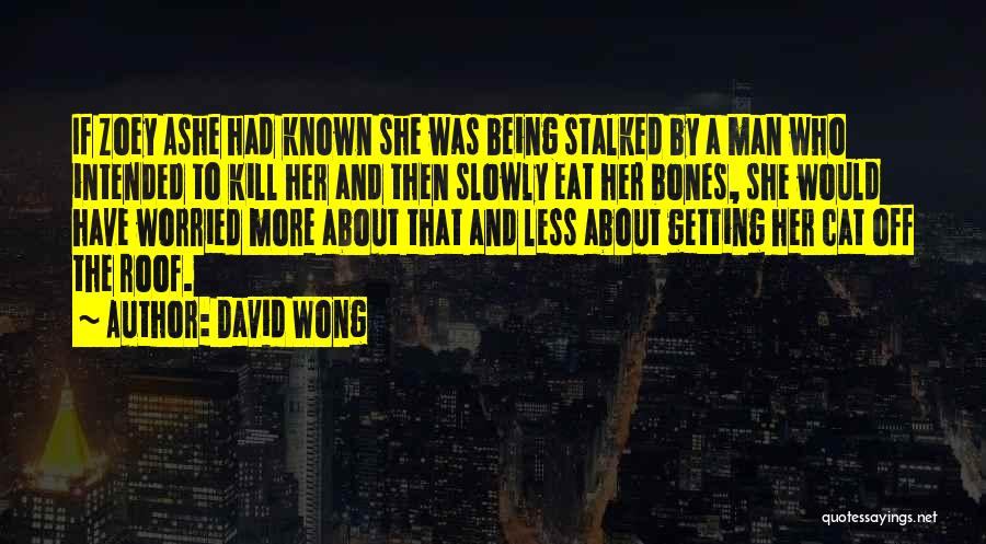 Who Would Have Known Quotes By David Wong