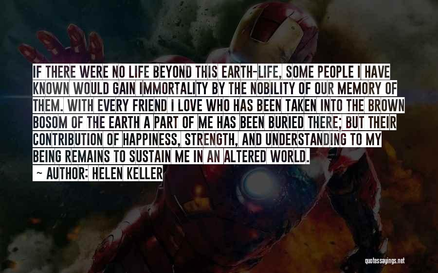 Who Would Have Known Quotes By Helen Keller