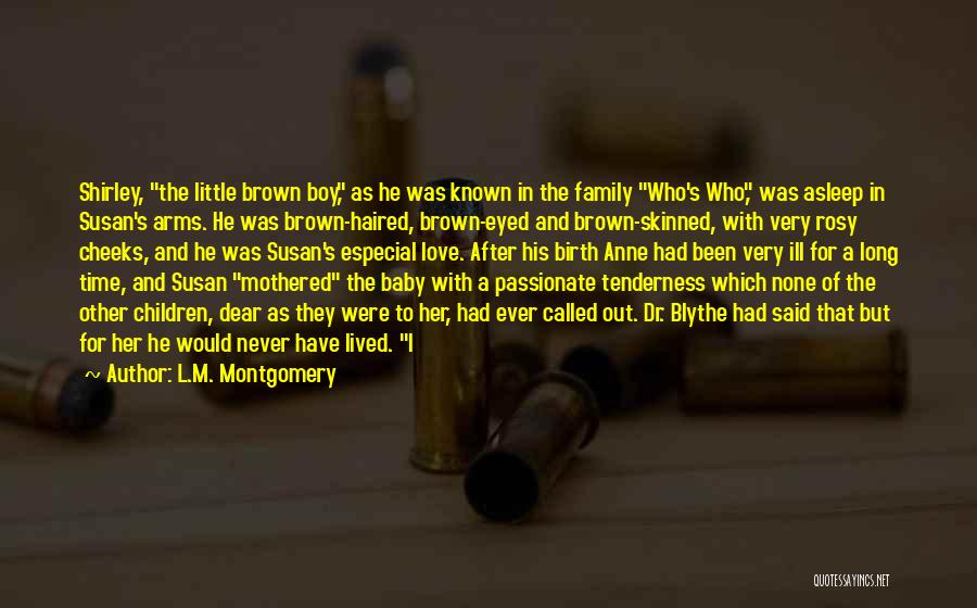 Who Would Have Known Quotes By L.M. Montgomery