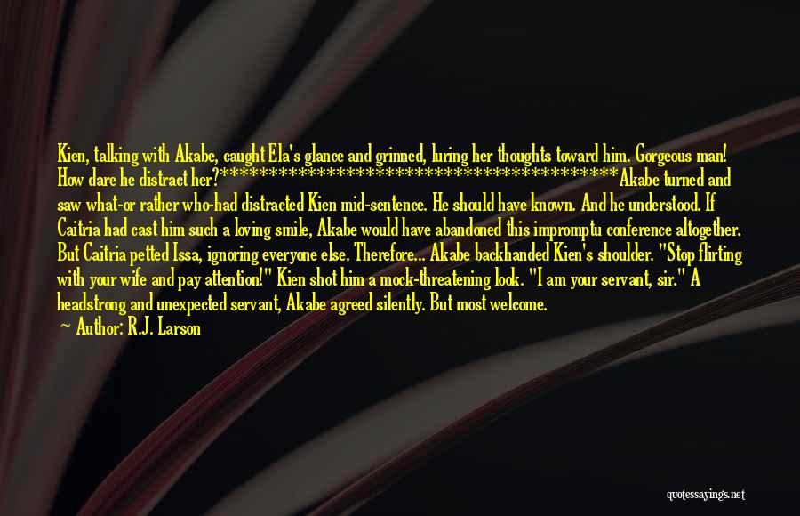 Who Would Have Known Quotes By R.J. Larson