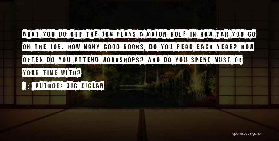 Who You Spend Your Time With Quotes By Zig Ziglar