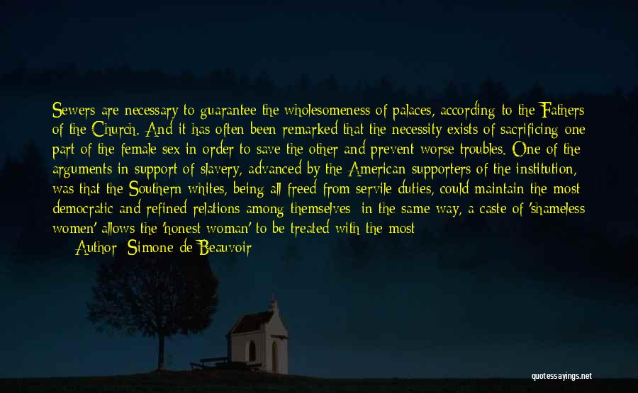 Wholesomeness Quotes By Simone De Beauvoir