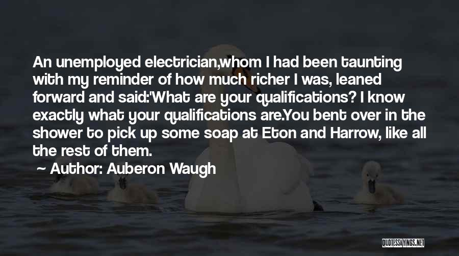 Whom You Like Quotes By Auberon Waugh
