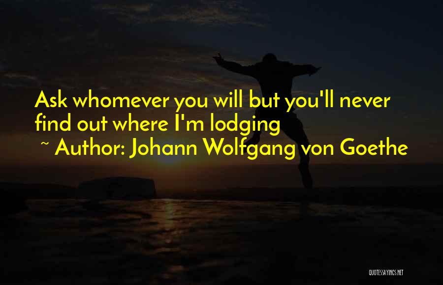 Whomever Quotes By Johann Wolfgang Von Goethe