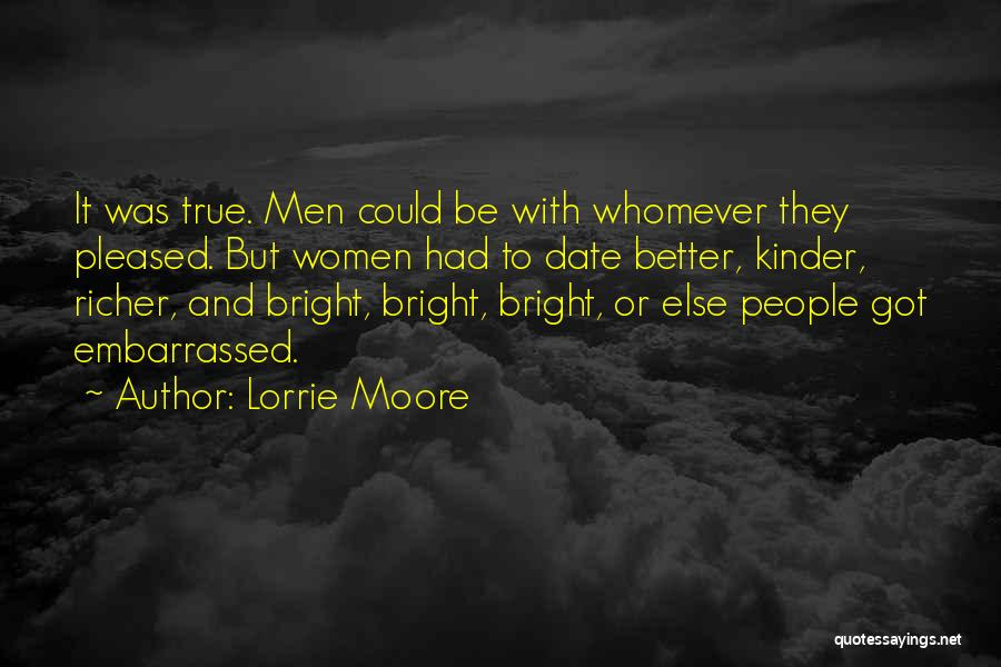 Whomever Quotes By Lorrie Moore