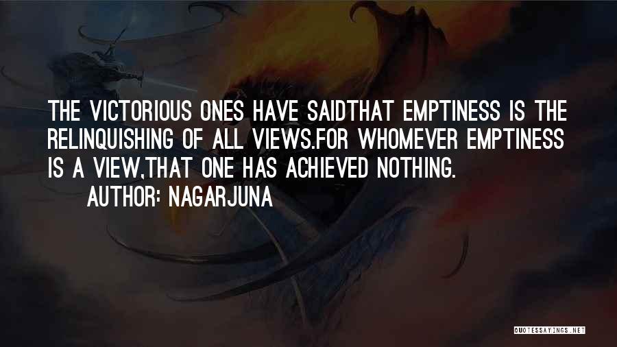 Whomever Quotes By Nagarjuna