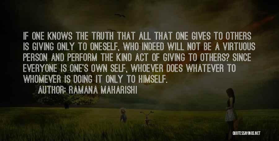 Whomever Quotes By Ramana Maharishi