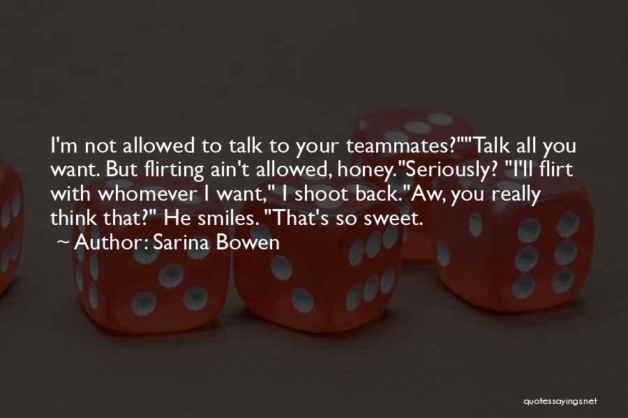 Whomever Quotes By Sarina Bowen
