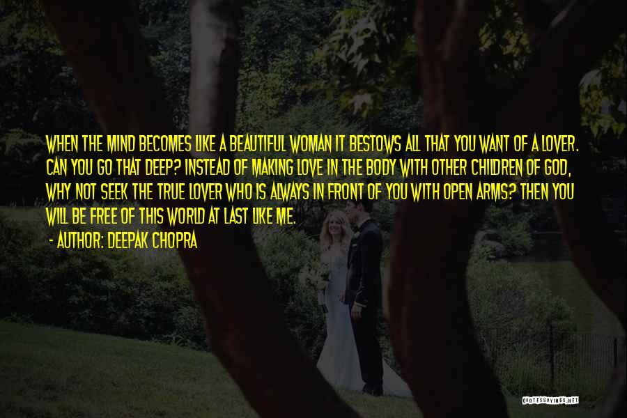 Why Always Me God Quotes By Deepak Chopra
