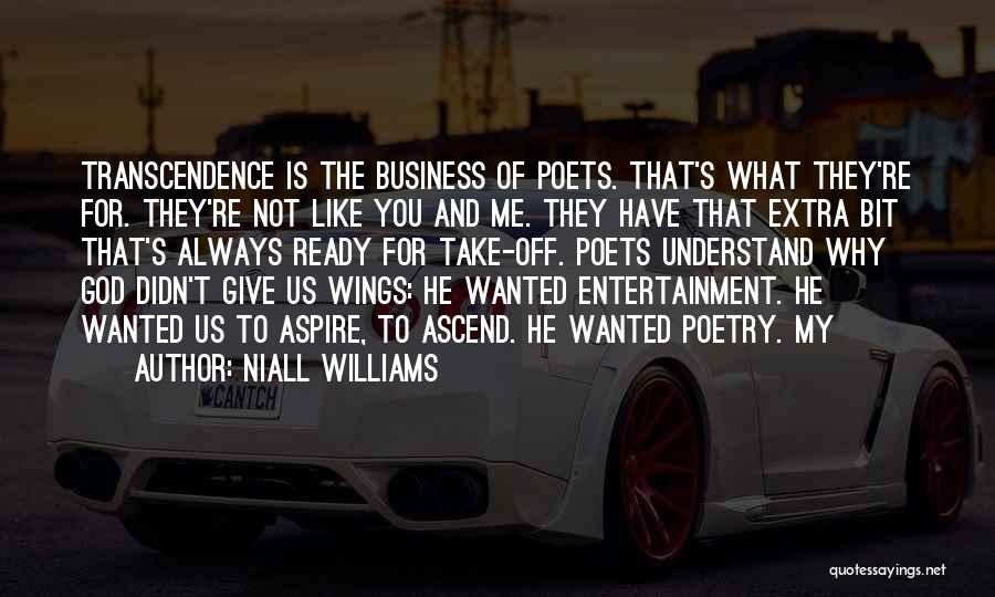 Why Always Me God Quotes By Niall Williams