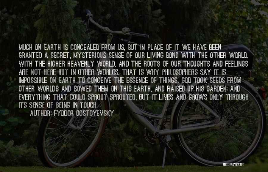 Why Are We Here On Earth Quotes By Fyodor Dostoyevsky