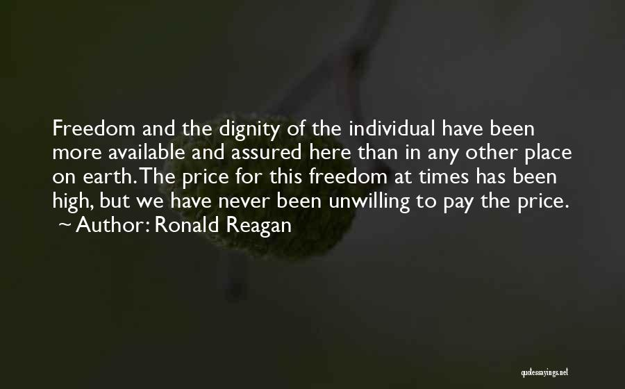 Why Are We Here On Earth Quotes By Ronald Reagan