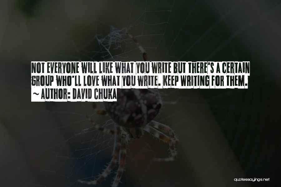 Why Authors Write Quotes By David Chuka