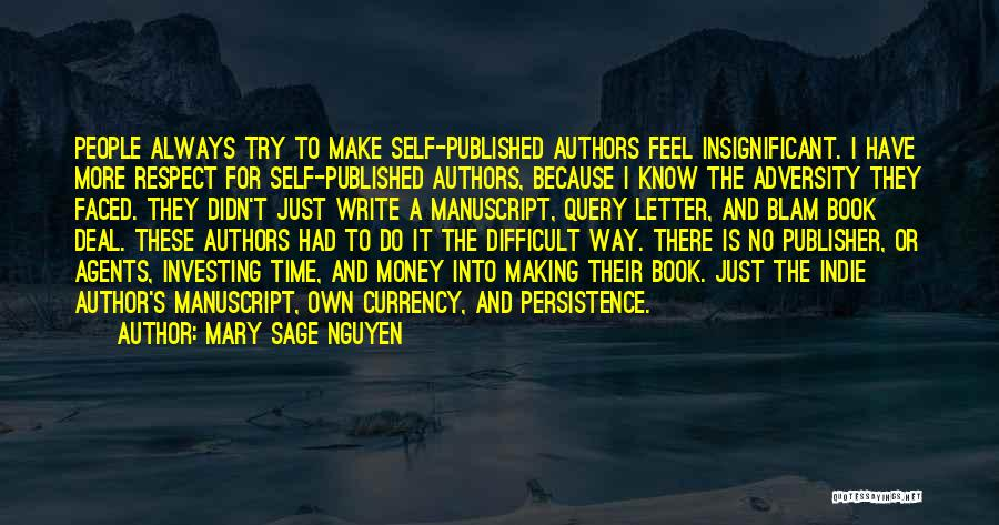 Why Authors Write Quotes By Mary Sage Nguyen