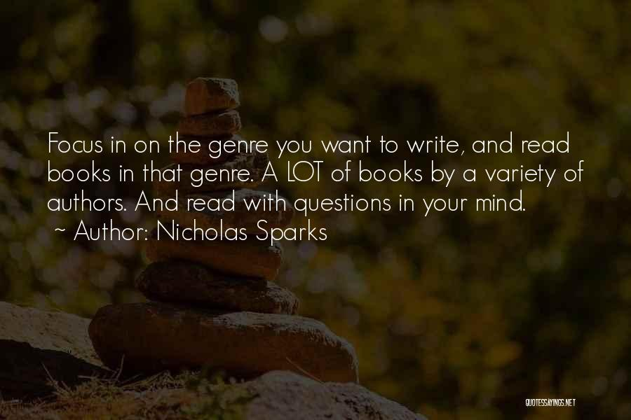 Why Authors Write Quotes By Nicholas Sparks