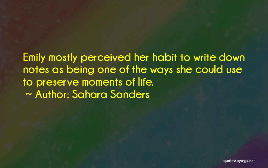Why Authors Write Quotes By Sahara Sanders