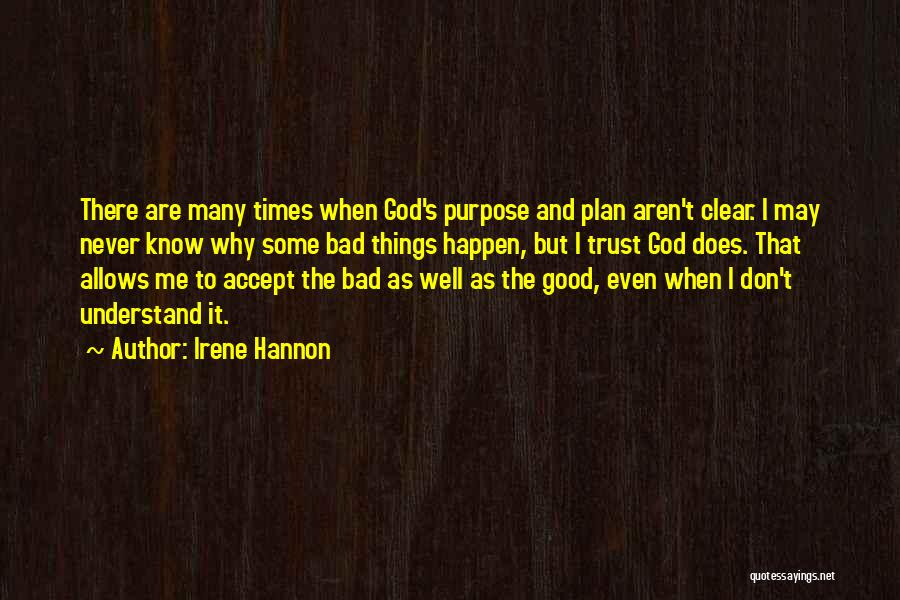 Why Bad Things Happen Quotes By Irene Hannon