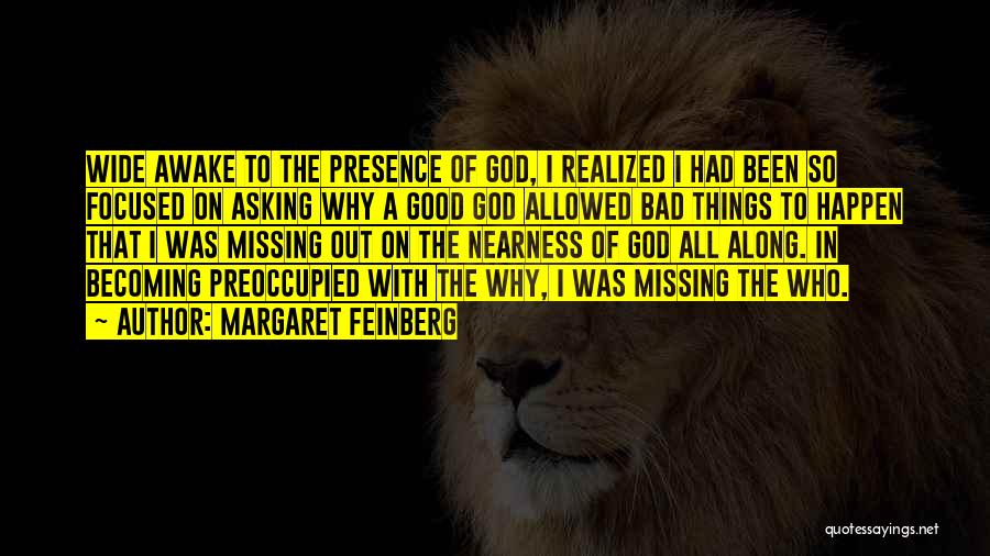 Why Bad Things Happen Quotes By Margaret Feinberg
