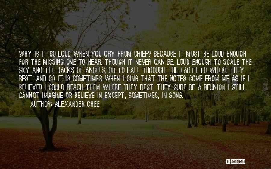Why Cry Quotes By Alexander Chee