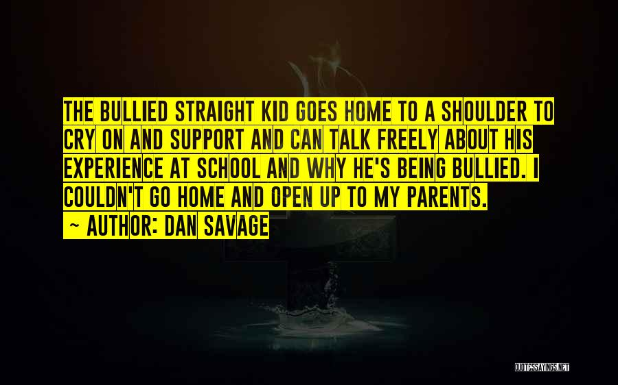 Why Cry Quotes By Dan Savage