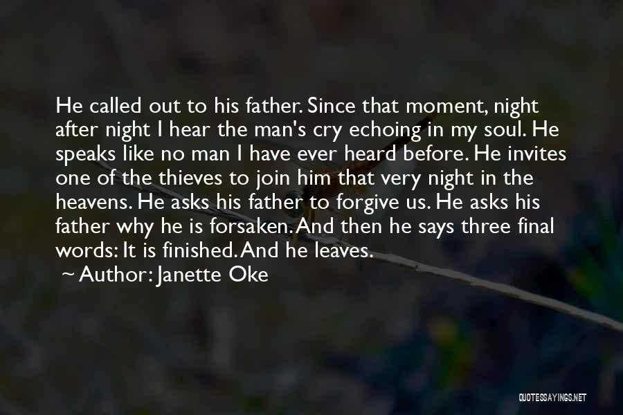 Why Cry Quotes By Janette Oke