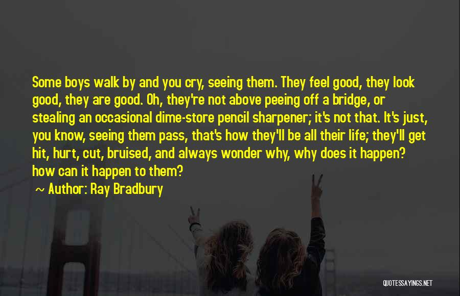 Why Cry Quotes By Ray Bradbury