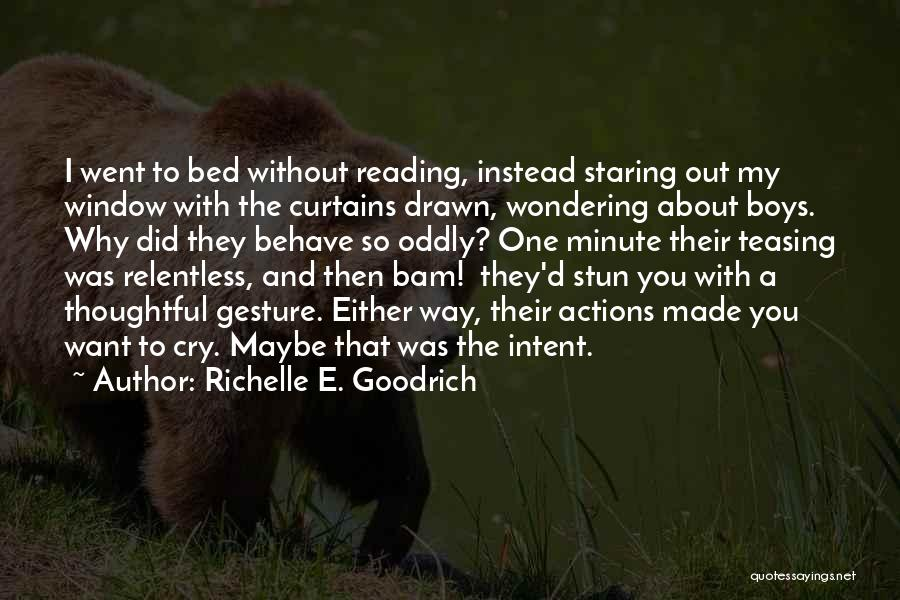 Why Cry Quotes By Richelle E. Goodrich