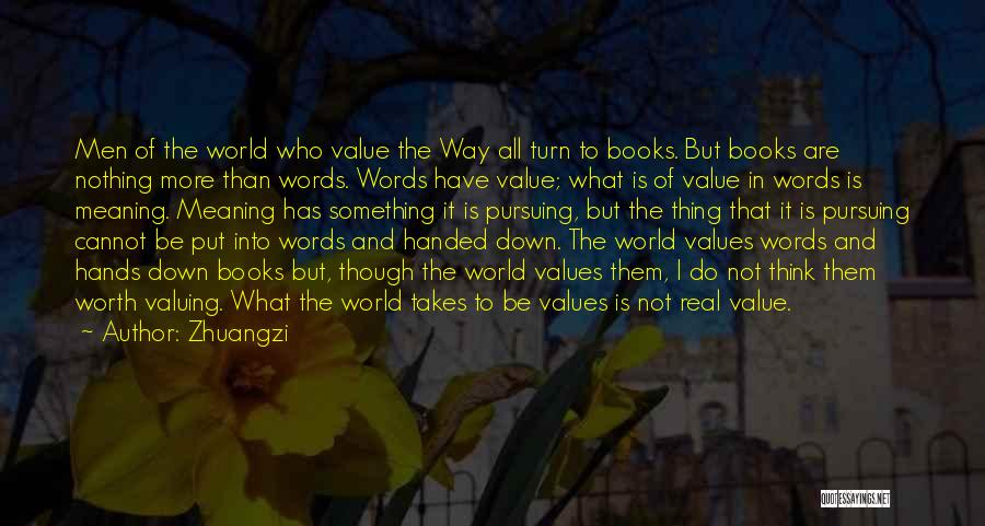 Why Do You Put Me Down Quotes By Zhuangzi