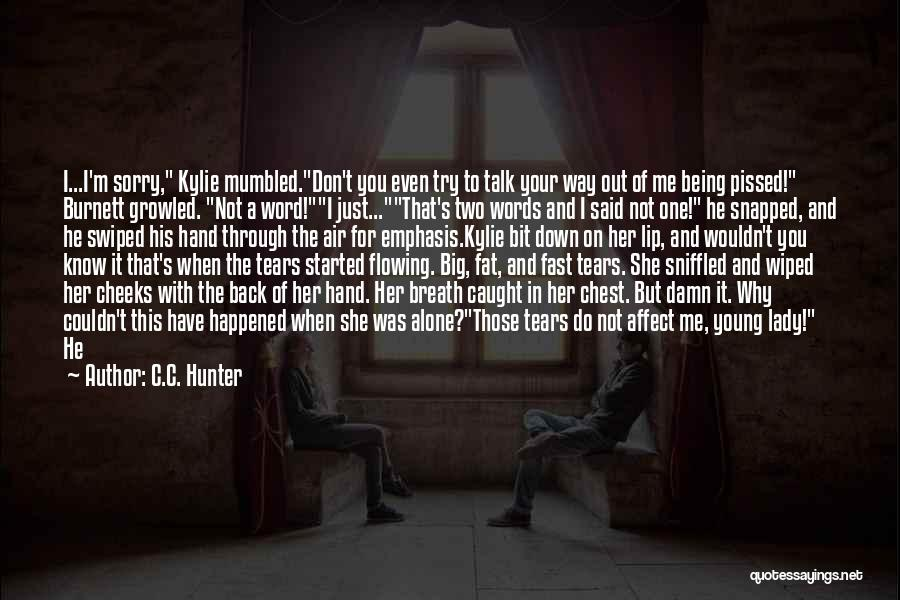 Why Even Try Quotes By C.C. Hunter