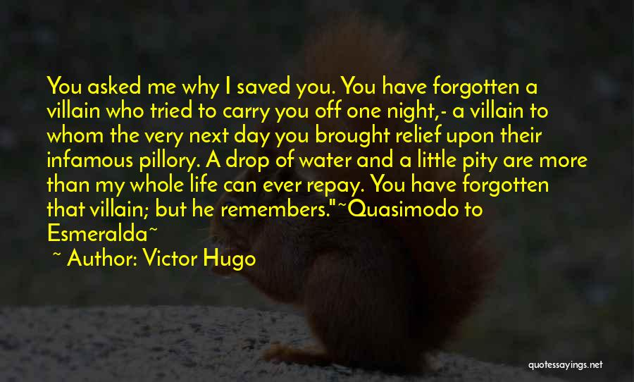 Why Have You Forgotten Me Quotes By Victor Hugo