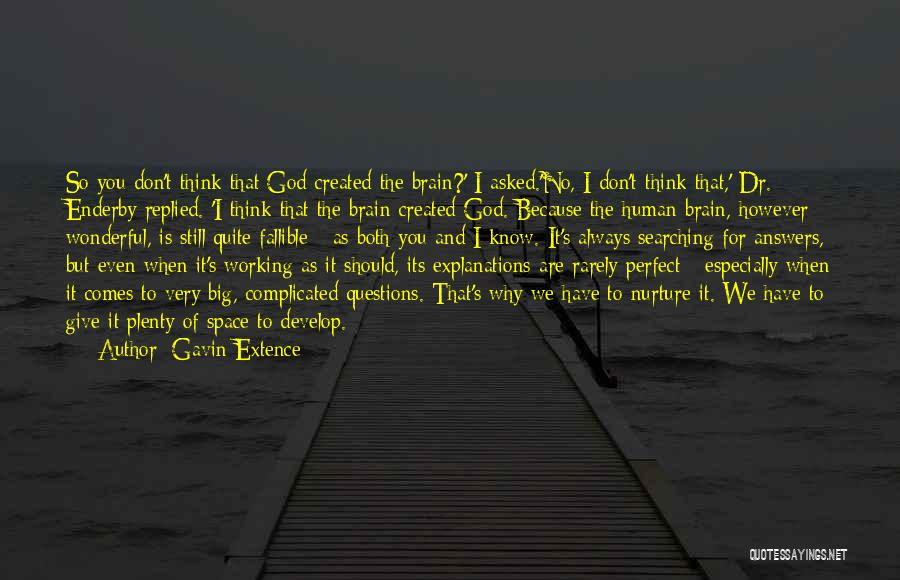 Why It's So Complicated Quotes By Gavin Extence