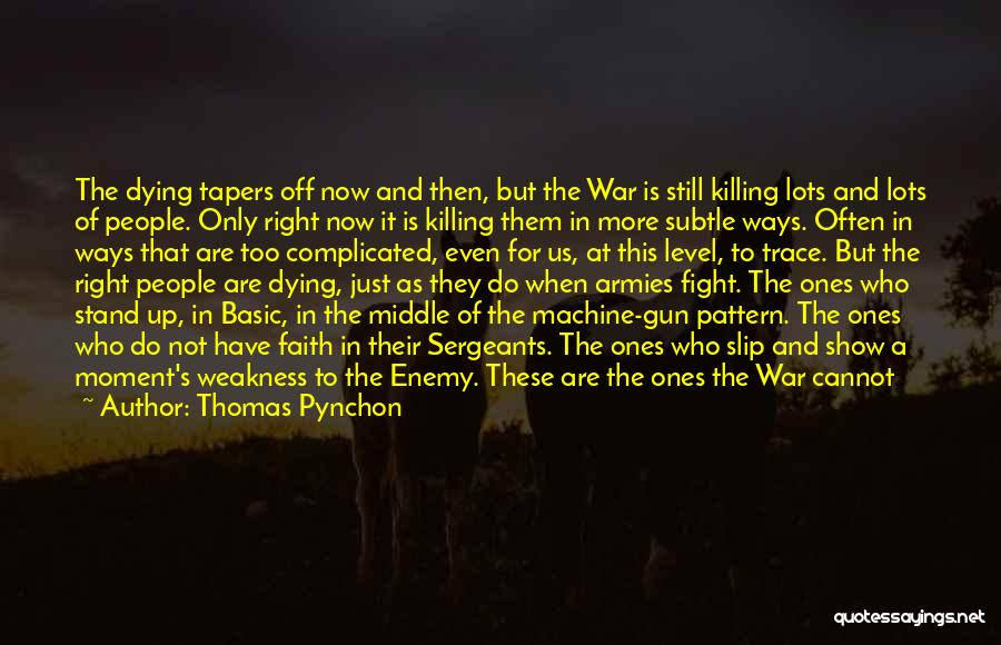 Why It's So Complicated Quotes By Thomas Pynchon