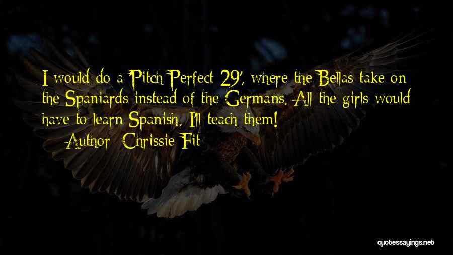 Why Learn Spanish Quotes By Chrissie Fit