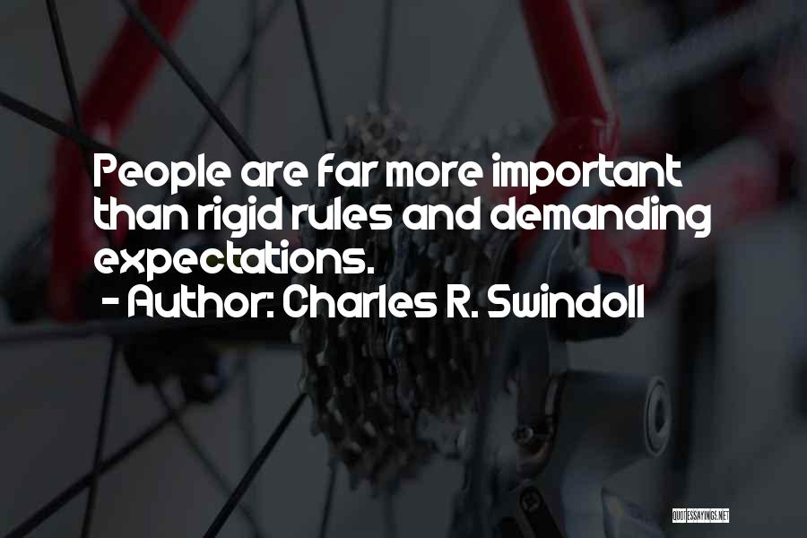 Why Rules Are Important Quotes By Charles R. Swindoll