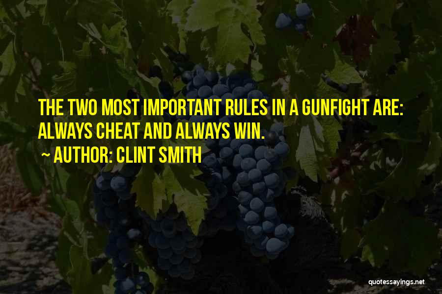 Why Rules Are Important Quotes By Clint Smith