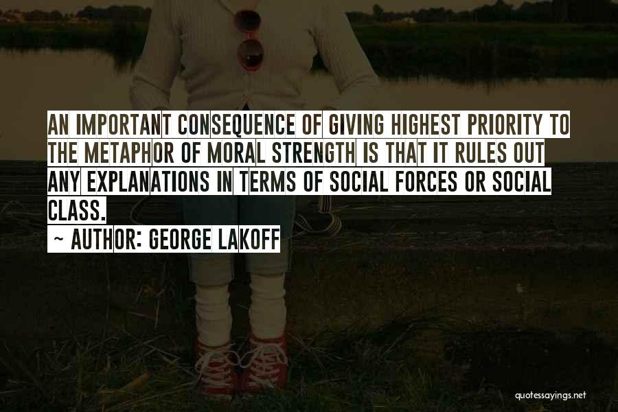 Why Rules Are Important Quotes By George Lakoff