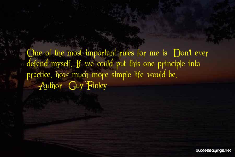 Why Rules Are Important Quotes By Guy Finley